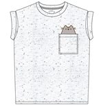 Pusheen T-shirt Pocket Pusheen