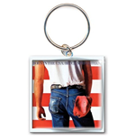 Bruce Springsteen Metal Keychain - Born In The Usa