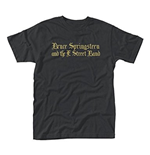 Bruce Springsteen T-shirt - Black Motorcycle Guitars