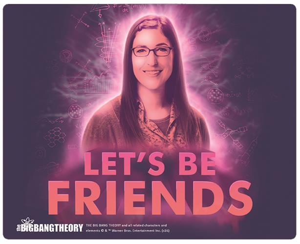 Big Bang Theory Mouse Pad Amy Figure
