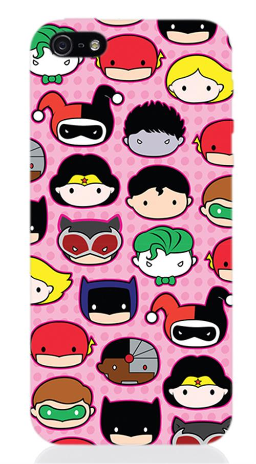 DC Comics Superheroes iPhone Cover 242504