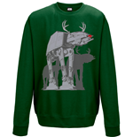 Star Wars Sweatshirt AT-AT Xmas Walker (GREEN)