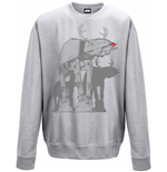 Star Wars Sweatshirt AT-AT Xmas Walker (GREY)