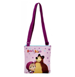 Masha and the Bear (Dots) shoulder bag 20