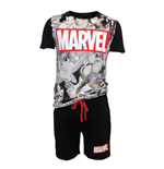 Avengers - Big Marvel Logo Male Shortama