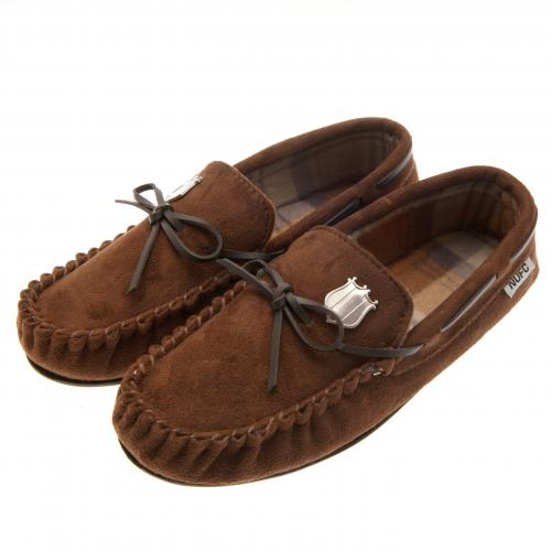 Newcastle United F.C. Moccasins Mens 7/8
