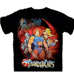 Thundercats T-Shirt Standing Group