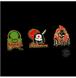 Suicide Squad Pin 3-Set 2