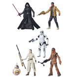 Star Wars Episode VII Black Series Action Figures 15 cm 2015 Wave 1 Assortment (6)