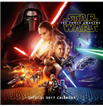 Star Wars Episode VII Calendar 2017 *English Version*