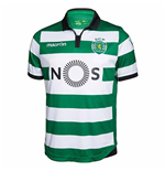 2016-2017 Sporting Lisbon Authentic Home Match Shirt
