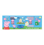 PEPPA PIG Colouring Meter with 68pc Creative Accessories Kit