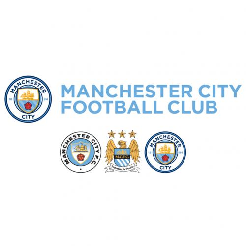 Manchester City F.C. Wall Sticker Set NC