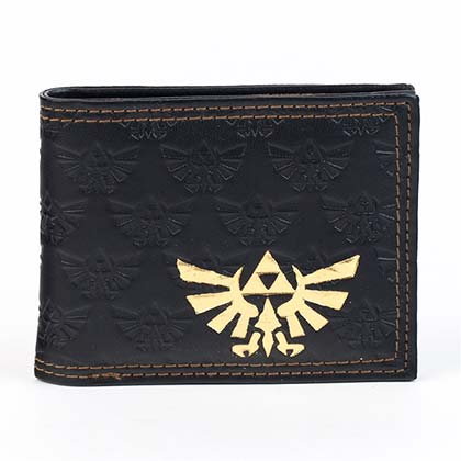 LEGEND OF ZELDA  Gold Triforce Wallet