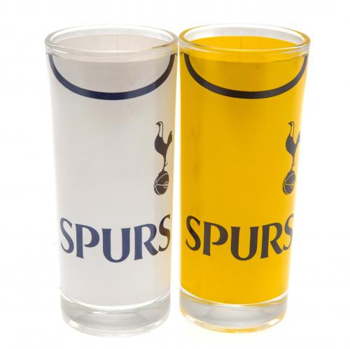 Tottenham Hotspur F.C. 2pk High Ball Glass