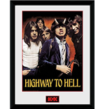 AC/DC Framed Picture - Highway To Hell - 30x40 Cm