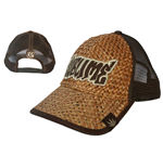 Sublime - Brown Leaf Straw Truck Cap