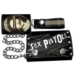 Sex Pistols - Chian Wallet Queen Logo