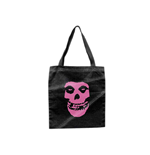Misfits - Tote Bag With Pink Skull