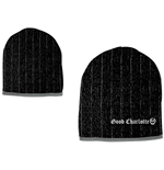 Good Charlotte - Black Grey Beanie