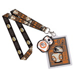 Star Wars Episode VII POP! Lanyard with Rubber Keychain BB-8