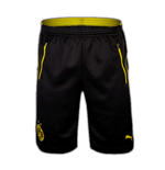 2016-2017 Borussia Dortmund Puma Training Shorts with Pockets (Black)