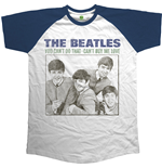 The Beatles Men's Raglan Tee: You Can't Do That - Can't Buy Me Love