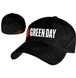 Green Day - Grenade Logo Blk Flex Cap