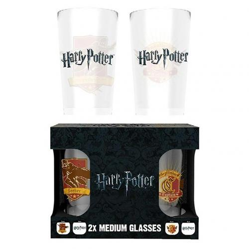 Harry Potter Twin Glass Set