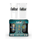Fallout 2 Glass Set - Vault Tec