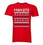 Man Utd Christmas T-Shirt (Red)