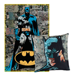 DC Comics Pillow & Fleece Blanket Set Batman