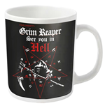 Grim Reaper Mug See You In Hell