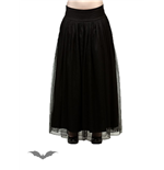 Layered Black Skirt