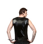 Black Tank Top with Latex