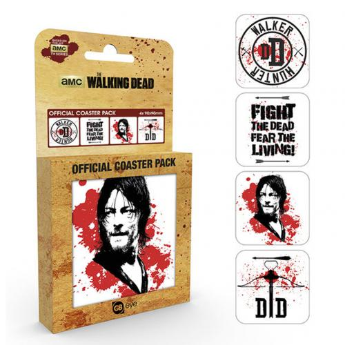 The Walking Dead Coaster Set