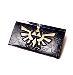 Zelda - Skyward Sword - Black Embossed Lock Wallet with Wingcrest