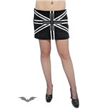 Mini Skirt UNION JACK with Zippers