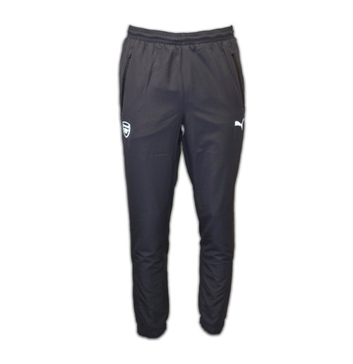 2016-2017 Arsenal Puma Woven Pants (Ebony)