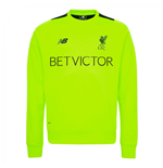 2016-2017 Liverpool Pro Training Sweat Top (Toxic)