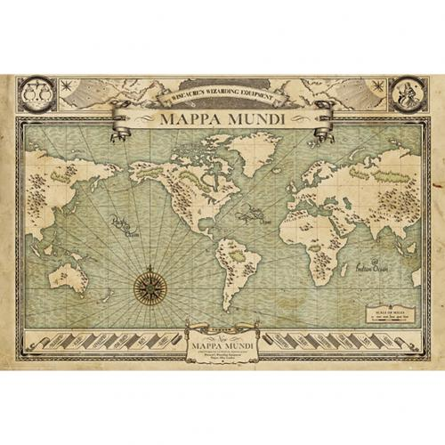 Fantastic Beasts Poster Map 232