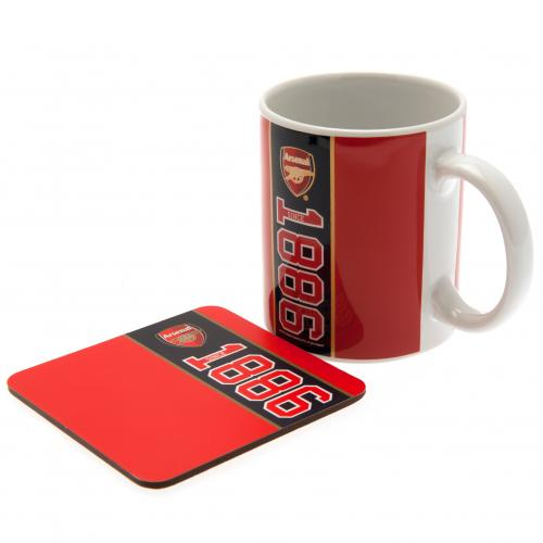 Arsenal F.C. Mug & Coaster Set