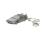 Back to the Future Metal Keychain DeLorean 7 cm