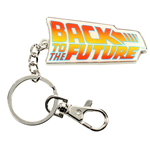 Back to the Future Metal Keychain Logo 7 cm