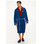 Batman v Superman Fleece Bathrobe Superman