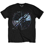 Pink Floyd T-shirt - Machine Greeting Blue Special Edition Black