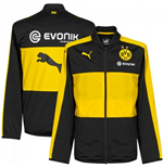 2016-2017 Borussia Dortmund Puma Poly Jacket (Black) - Kids