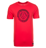 2016-2017 PSG Nike Core Crest Tee (Red)