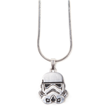 Star Wars - Stormtrooper Helm Silver Necklace