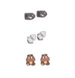 Nintendo - 3 Pair Set of Studd Earrings Enemies